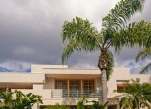 Condominium at tropics Royalty Free Stock Photography