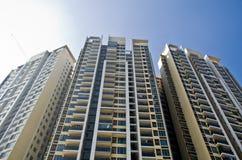 Condominiums élevés Images stock