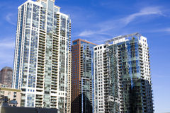 Condominiums Royalty Free Stock Photos
