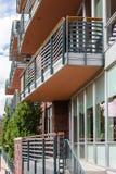 condominiums stock fotografie