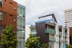condominiums royalty-vrije stock afbeelding