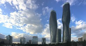 Condominiums absolus du monde, Mississauga, Canada Images libres de droits