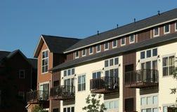 Condominiums - apartment buildings. Apartment buildings - condominiums  in Colorado suburbs Stock Photo