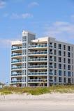 Condominiums on the Beach Royalty Free Stock Photos