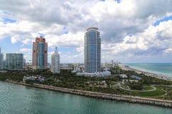 Condominiums de Miami Photographie stock