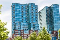 Condominiums Stock Images