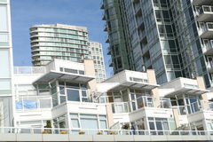 Condominiums Galore Royalty Free Stock Images
