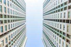 Condominiums jumeaux Image stock