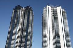 condominiums modernes Images libres de droits