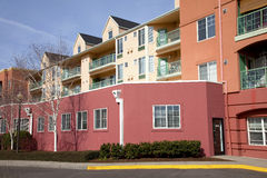 Condominiums in Portland Oregon. Royalty Free Stock Photos