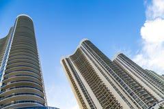 Condominiums at Sunny Isles Beach in Miami, Florida stock photos