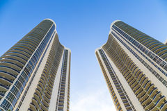Condominiums at Sunny Isles Beach Royalty Free Stock Image
