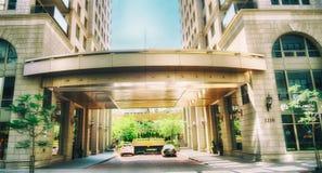 Condomínios luxuosos (Blv Maisonneuve ocidental) Imagem de Stock