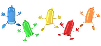 Condoms Stock Photography