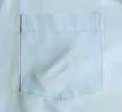 Condones en camisa del bolsillo imagen de archivo