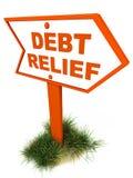 Condono del debito Fotografia Stock Libera da Diritti