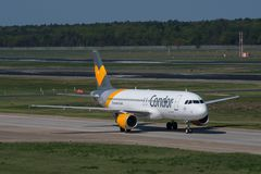 Condor Airbus A320 airplan photo stock