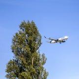 Condor aircraft D-ABUH in landing approach at Frankfurt Rhein Ma Stock Image