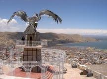 Condor au-dessus de Puno Images stock