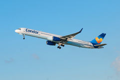 Condor Boeing 757 Royalty Free Stock Photos