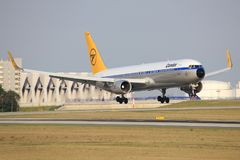 Condor Boeing retro 767 Imagens de Stock