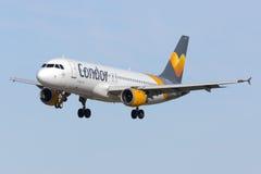 Condor A320 em finais Imagem de Stock Royalty Free