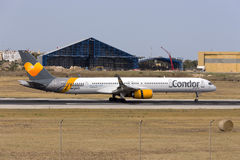 Condor 757-300 Royalty Free Stock Image