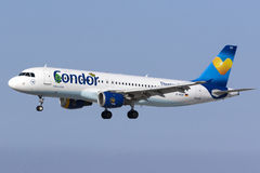 Condor A320 na libré especial Imagens de Stock Royalty Free