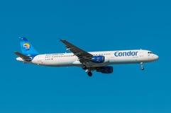 Condorluchtbus A321 stock afbeelding
