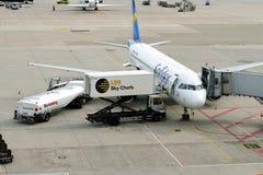 Condorvliegtuig Stock Foto's