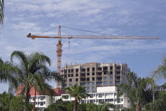 Condos Construction Royalty Free Stock Photography