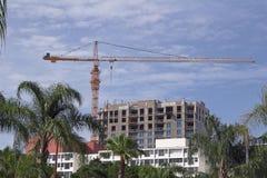 Condos Construction Royalty Free Stock Photography