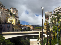 Condos hotels houses  valley Monte Carlo Monaco Europe Stock Photography