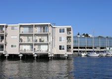 Condos and Marina Stock Image
