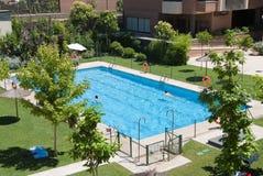 Condo�s pool Stock Photography