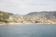 Condos and Resort Hotels on the South of France Royalty Free Stock Photo