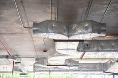 Condotta di scarico di ventilazione fotografie stock libere da diritti