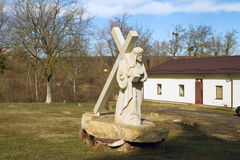 Condrita, monastério de São Nicolau de Moldova Fotografia de Stock