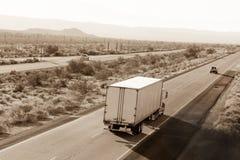 Condução através de América Imagens de Stock
