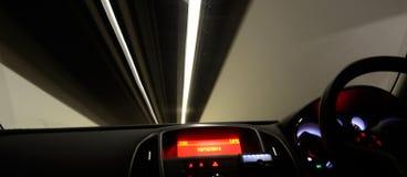 Condução através do túnel Foto de Stock Royalty Free