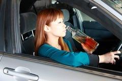 Condução bêbedo Fotografia de Stock