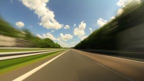 Condução da estrada vídeos de arquivo