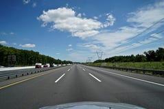 Condução da estrada Fotos de Stock