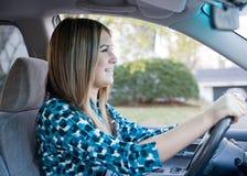 Condução do adolescente Imagem de Stock