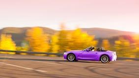 Condução do outono Fotos de Stock