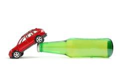 Condução em estado de embriaguês foto de stock