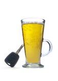 Condução em estado de embriaguês imagens de stock
