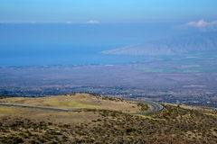 Condução a Haleakala fotografia de stock