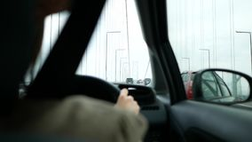 Condução na ponte longa filme