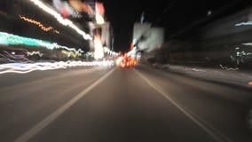Condução no LA - Front Camera Mount Time Lapse vídeos de arquivo